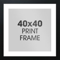 40 x 50cm GB eye Ltd Mini Poster Frame Silver