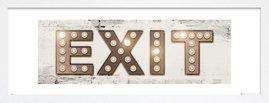 Exit Lights gold