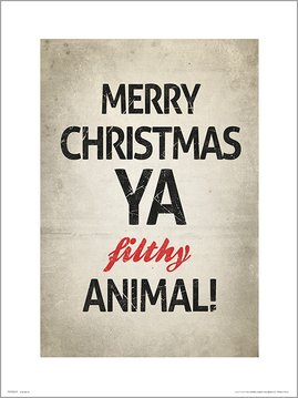 Merry Christmas Animal