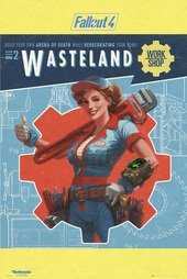 Brand New Fallout 4 Poster Fp4135 Magazine Covers