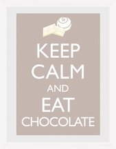 Keep Calm - Chocolate