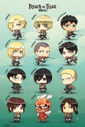 Attack on Titan - Chibi Characters
