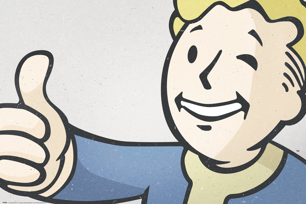 Fp4135 Magazine Covers Brand New Fallout 4 Poster