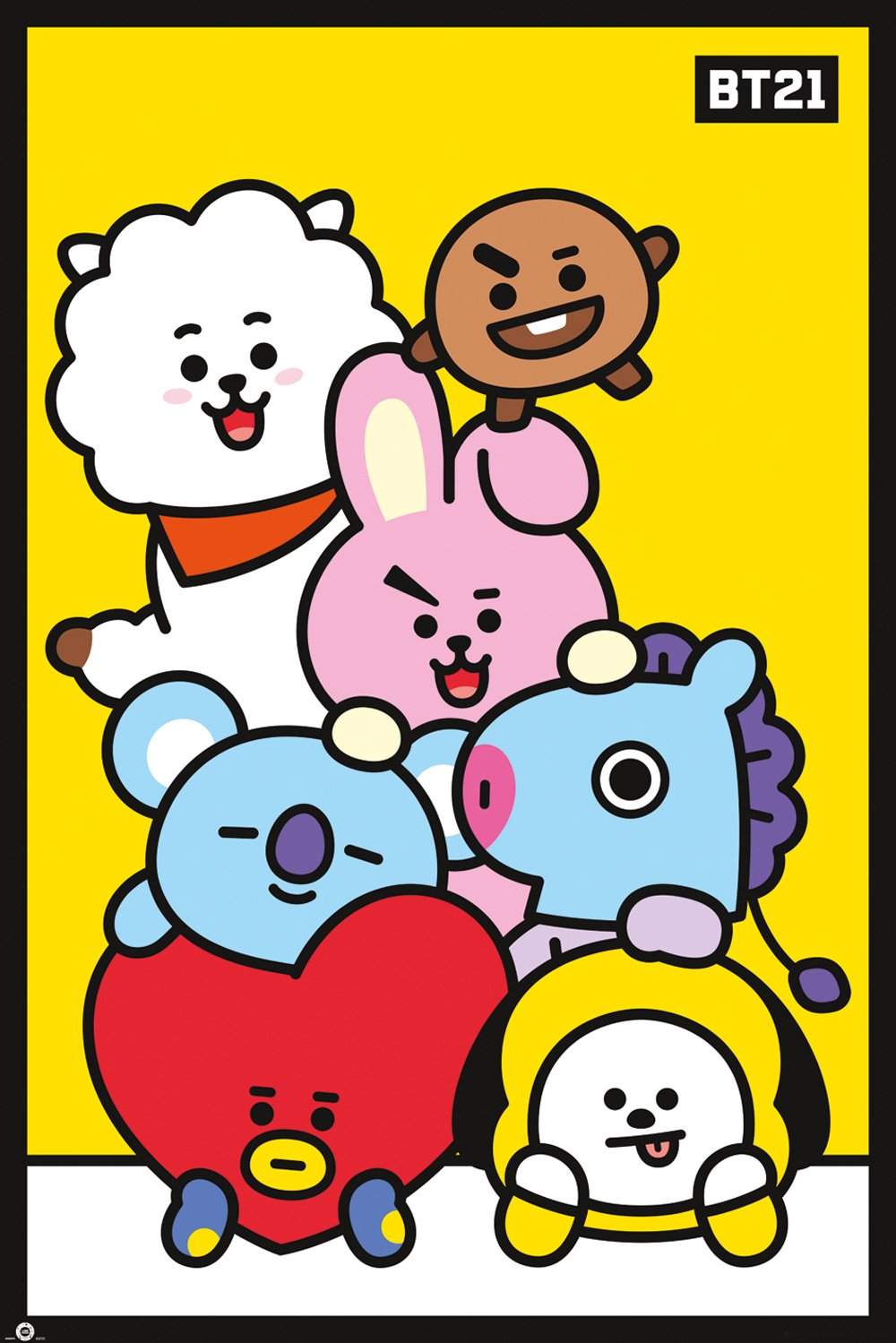 Image result for bt21 group photo