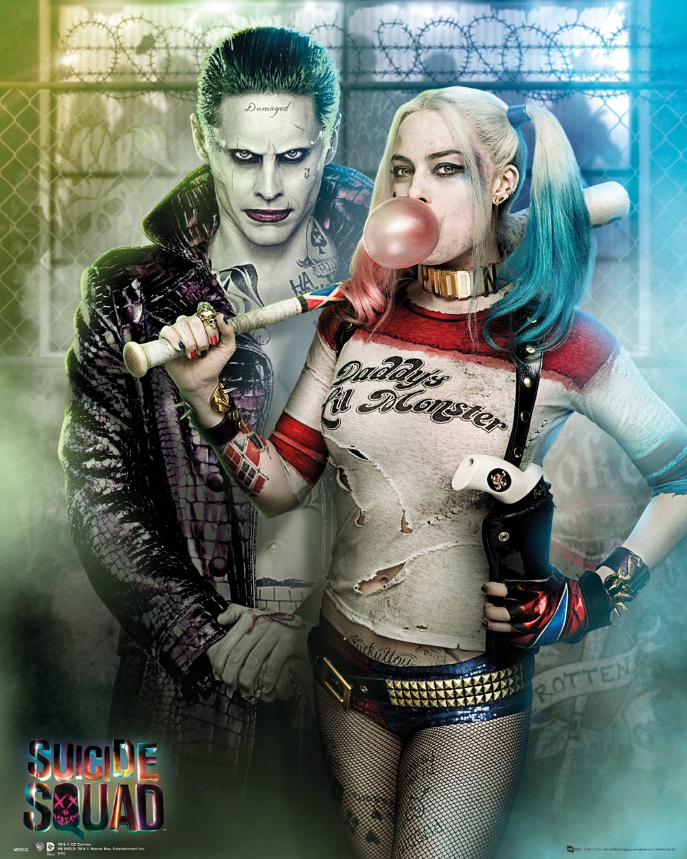 Harley Quinn A3 /& A4 Option 3 Suicide Squad Film Posters