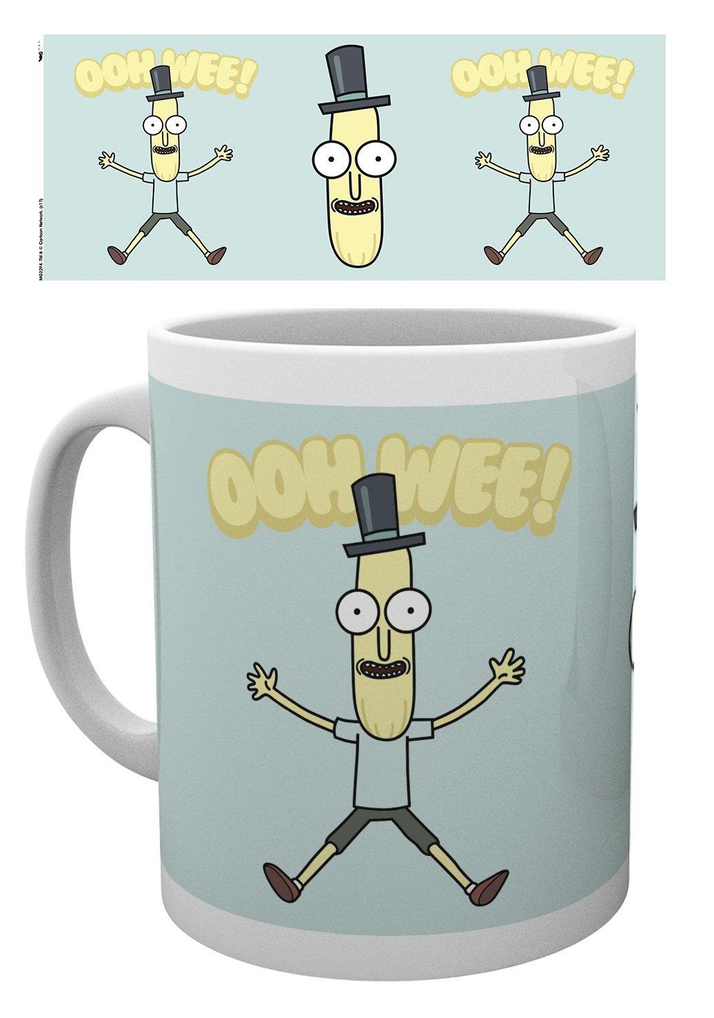 Rick and Morty anatomie Park mug