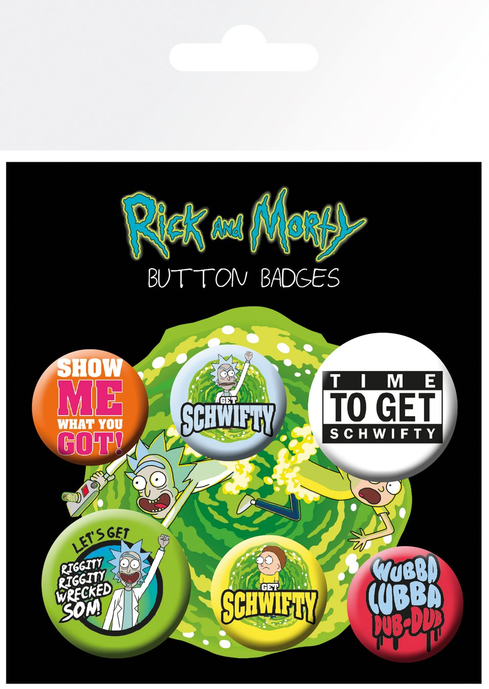 Maxi Poster 61x91.5 Cm Gb Eye Rick And Morty Quotes Various Morty Quotes