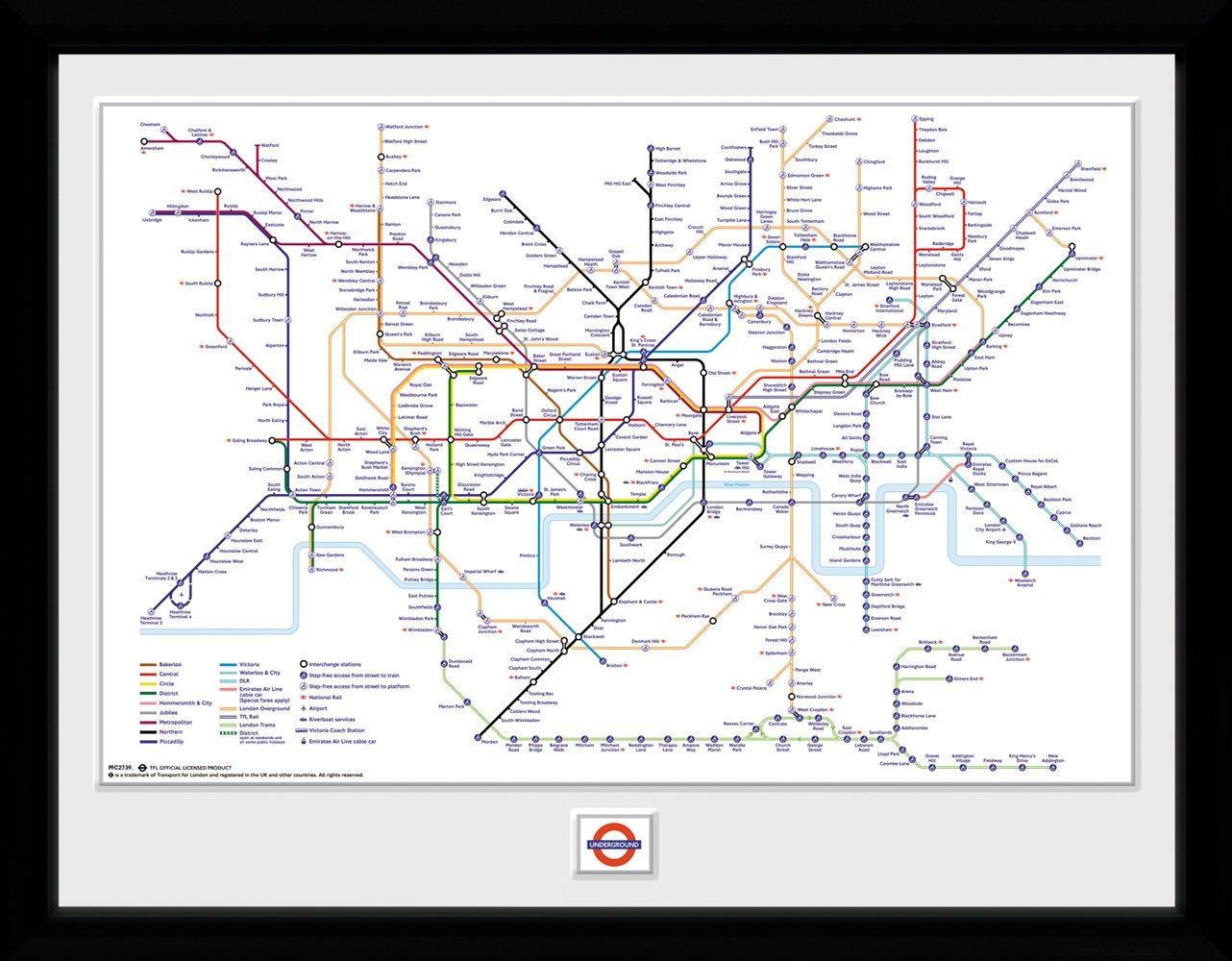 Transport For London Map.Transport For London