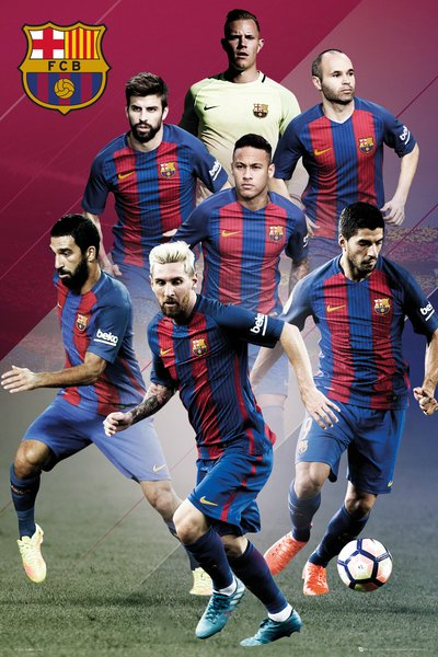 Football Sale - Barcelona Players