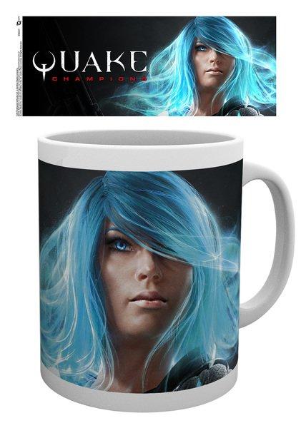 GB eye Quake Champions Group Mug Wood 15 x 10 x 9 cm Multi-Colour