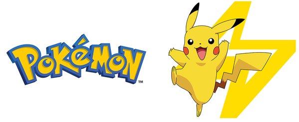 Pokemon Logo And Pikachu Mug