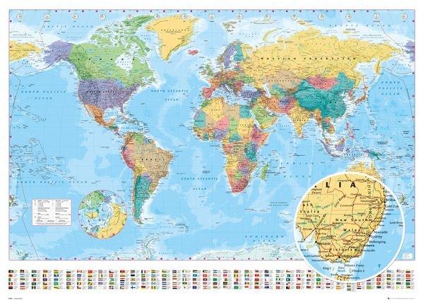 General World Map.World Map