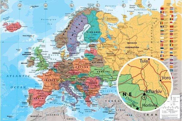 European map publicscrutiny Choice Image
