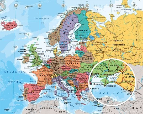 European map gumiabroncs Image collections