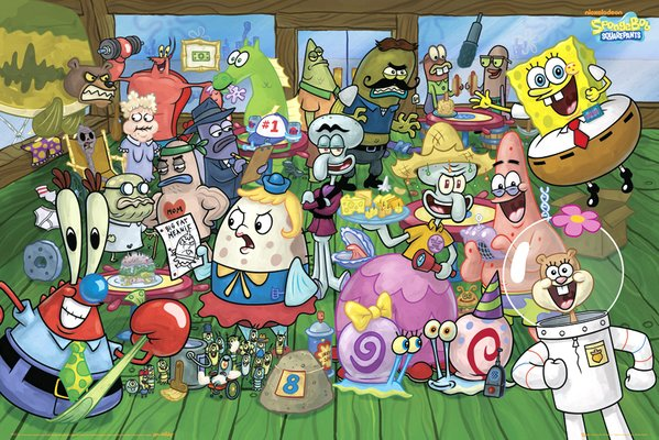Spongebob Characters Images & Pictures - Becuo