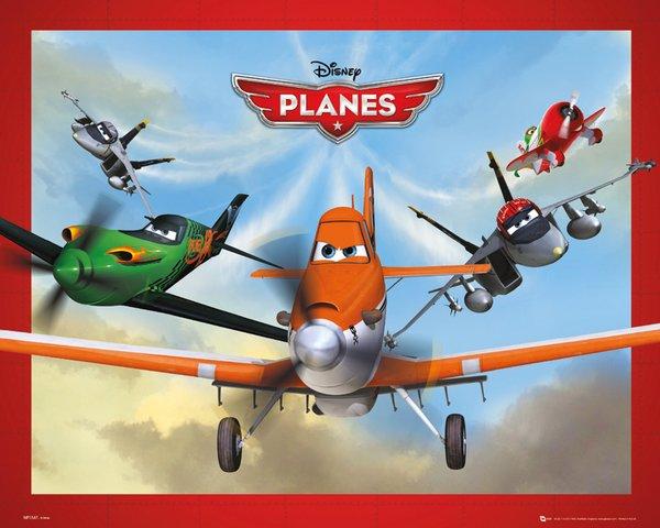 Süper Uçaklar Planes Oyunu