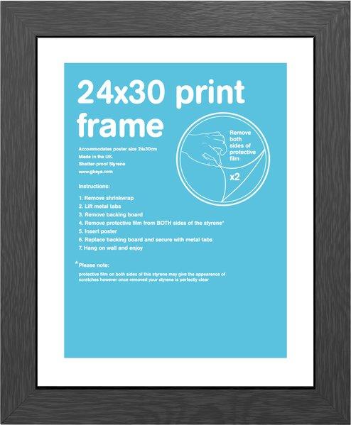 ... 24+X+30+Frame fmpdoa1bk black frame 24 x 30cm frame 24 x 30 shatter