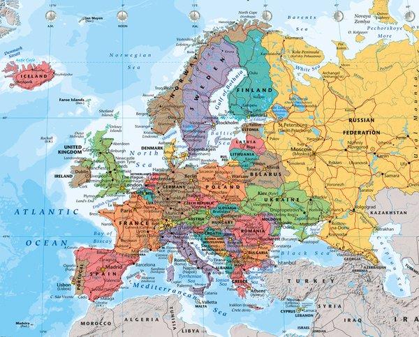 European Map – Eropian Map