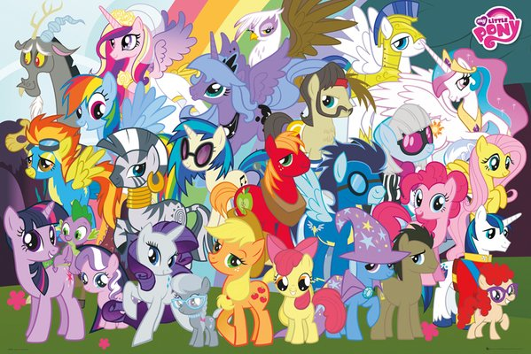 My little pony characters - photo#10