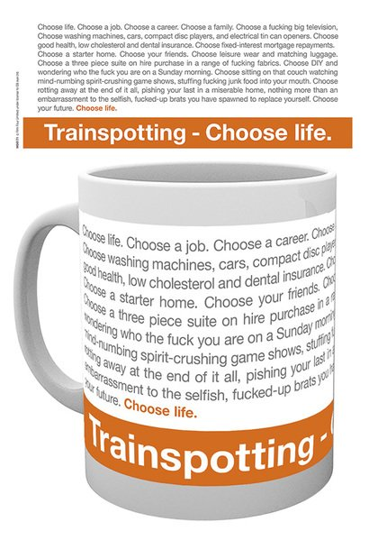 Trainspotting Poster Quote Mg0171 Trainspotting Quote