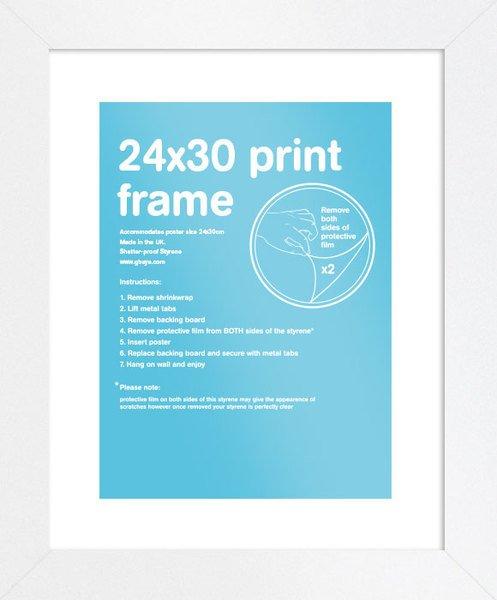 Eton White Frame