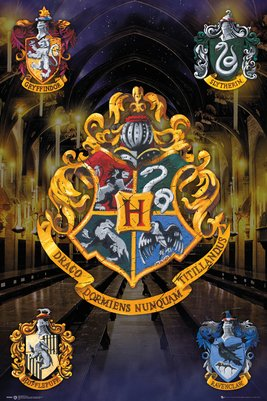 Harry Potter - Crests