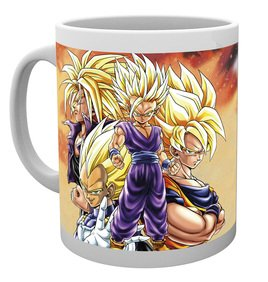 MG0909 DRAGON BALL Z super saiyans mug