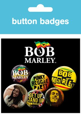 Bob Marley New Badge Pack