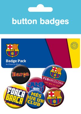 Barcelona Badge Pack