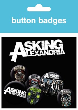 Asking Alexandra Graphics Badge Pack