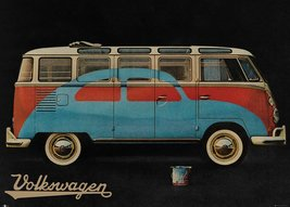 VW Camper Paint Advert