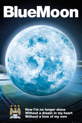 Machester City - Blue Moon 2014