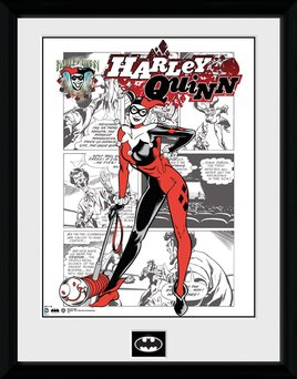 Batman Comic - Harley Quinn Comic