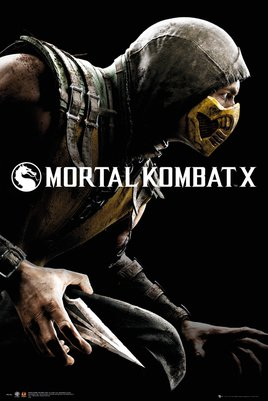 MORTAL KOMBAT X cover