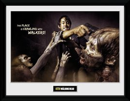 The Walking Dead Glenn Attack