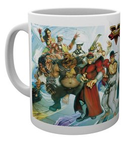 MG1348 STREET FIGHTER 5 characters MUG