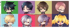 MG1489 SERAPH OF THE END chibi