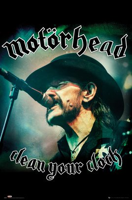 LP2064 MOTORHEAD clean your clock