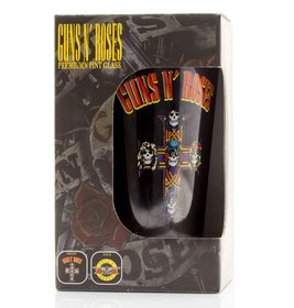 Glb0142 guns n roses logo box