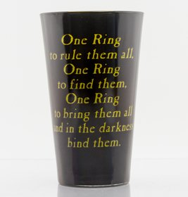 Glb0146 lord of the rings one ring front
