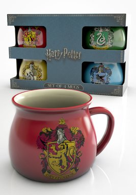 Gfb0062 harry potter house crests small mugs