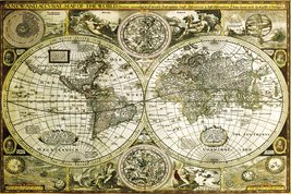 World Map Historical