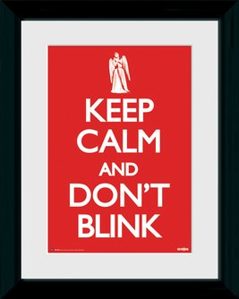 Keep Calm Don't Blink 12x16