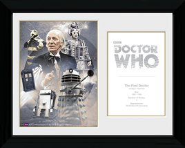 1st Doctor William Hartnell