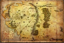 The Hobbit - Map