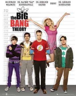 Big Bang Theory Line Up Mini