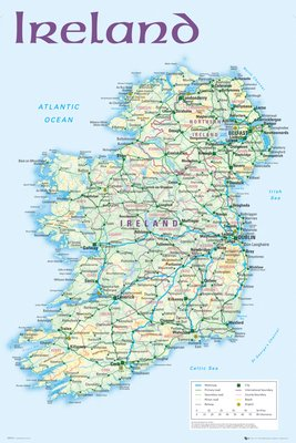 Ireland Map 2012