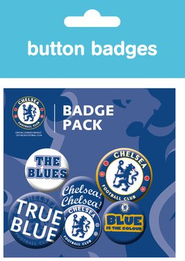 Chelsea Crests Badge Pack