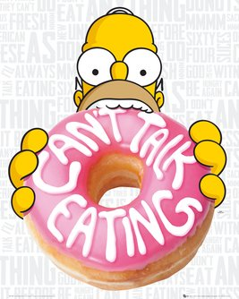 The Simpsons - Eating