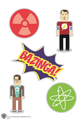 The Big Bang Theory - Bazinga 1